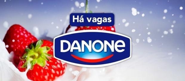 Vagas abertas na Danone - Foto: Reprodução Softrainynight