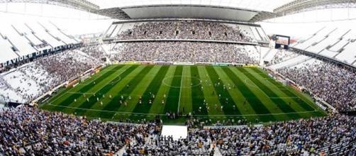 Arena onde houve o primeiro jogo da Copa do Mundo 2014