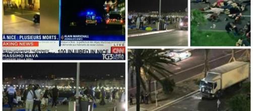 Attentato terroristico a Nizza.