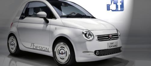 Fiat Topolino: il render di Automotive JTDesign