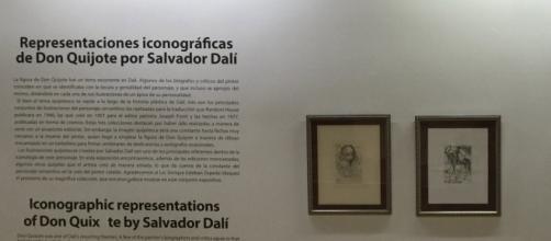Retratos de Cervantes y Don Quijote por Salvador Dalí