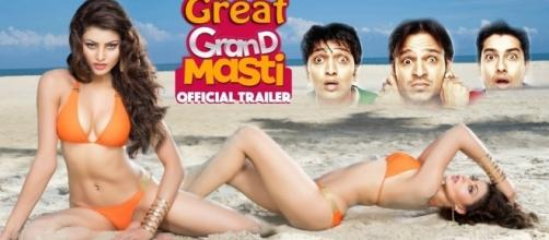 Urvashi Rautela in 'Great Grand Masti) Twitter