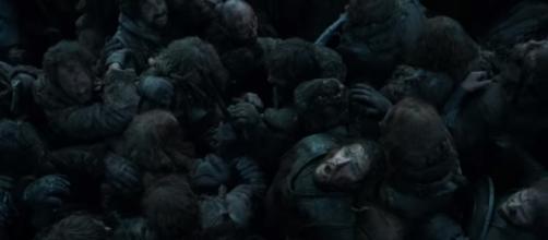 What did George R.R. Martin think of Jon Snow's resurrection? Photo via YouTube