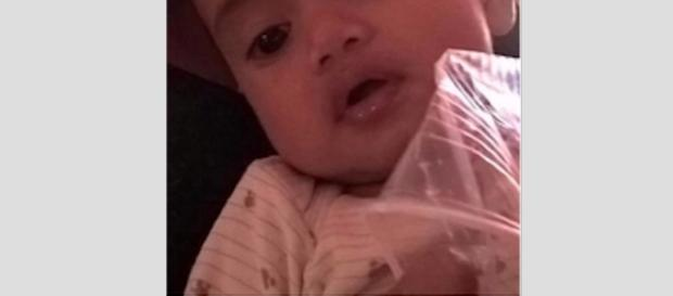 Baby was finally found after being separated from her mother on the attacks