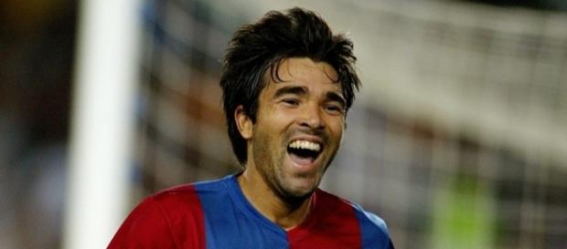 Deco, ex-jogador do Barcelona da Espanha