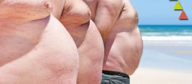 El estudio se realizó en hombres obesos