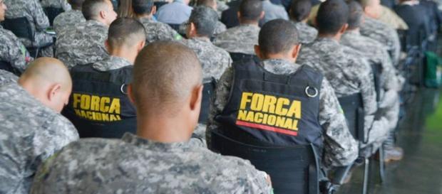 Força Nacional pode abandonar o Rio de Janeiro - Foto: Jornal Correio do Brasil