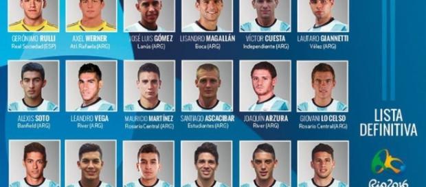 Julio Olarticoechea definió la nómina de 18 futbolistas de la selección argentina Sub 23 con miras a los JJOO