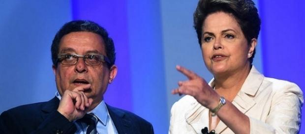O marqueteiro do PT e Dilma - Imagem/Google