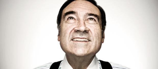 Pedro Jota Ramírez, actual director de El Español, que no tiene por ahora el éxito esperado, pese a la expresión de su cara.