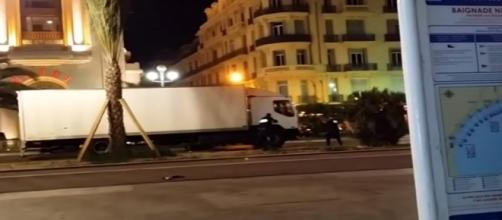 Attack in Nice, France, via YouTube