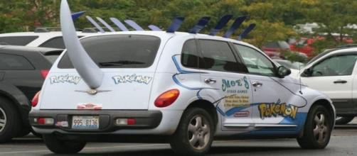 Carro personalizado com o tema Pokémon oferece serviço exclusivo