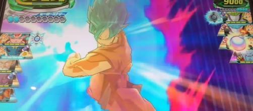 Dragón Ball Héroes Goku super kaioken.
