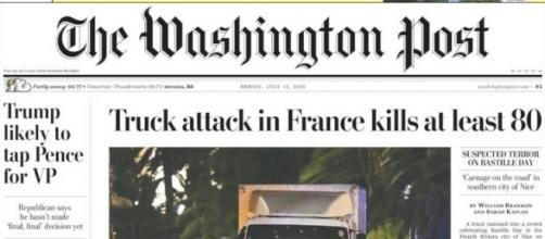 El atentado de Niza protagoniza las portadas de la prensa internacional