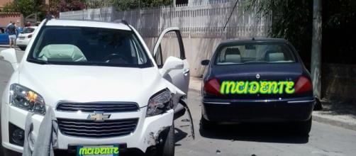 Immagini dell'incidente avvenuto ad Agrigento