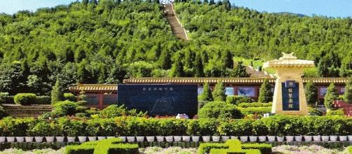 Mausoleo piramidal del primer emperador en Xian