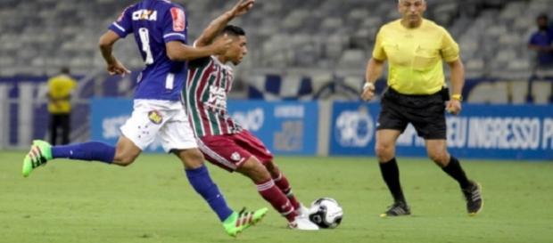Adversários na Primeira Liga, Fluminense e Cruzeiro se enfrentam pelo Brasileirão no domingo (Foto: Fernando Michel/Lancepress)