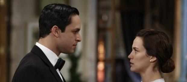 Noiva de Celso, Maria não quer se casar (Divulgação/Globo)