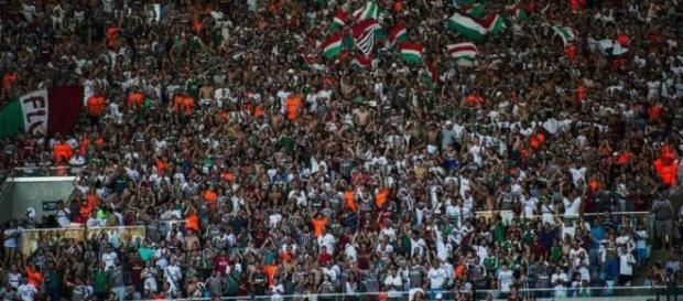 Torcida promete comparecer em massa no Édson Passos para ver Fluminense e Cruzeiro (Foto: Arquivo)