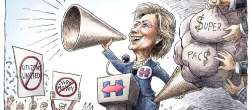 How 'Citizens United' is helping Hillary Clinton win the White ... - publicintegrity.org