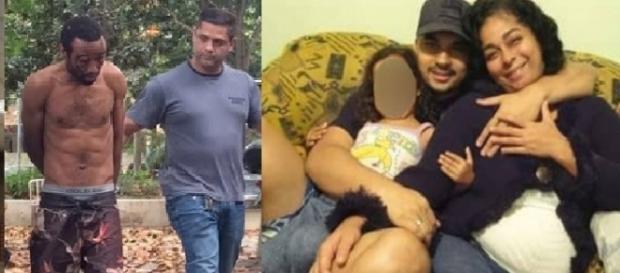 Preso homem que matou dona de casa esfaqueada (Reprodução/Internet)