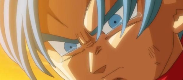 Trunks del futuro triste por la noticia