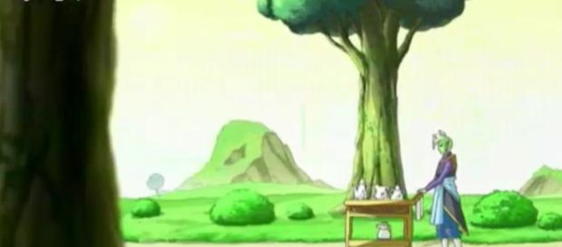 Zamasu en su primera aparicion en la serie