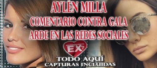 Aylén Milla nuevamente ataca a Gala