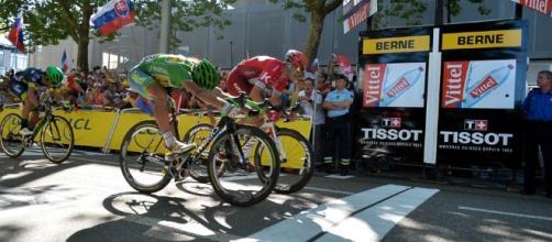 Con foto finish, Peter Sagan consiguió su tercer éxito de etapa y el séptimo triunfo en la Grande Boucle