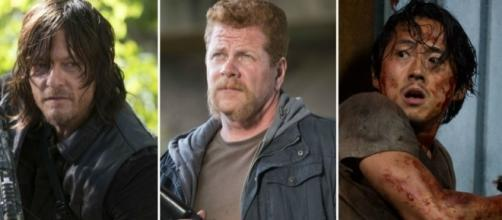 Daryl, Abraham e Glenn, The Walking Dead 7