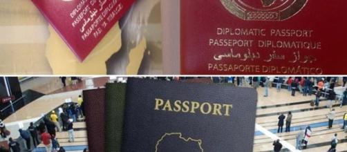 Exemplaires des passeports panafricains. Crédit photo, Maëlle Soumbi