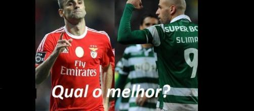Jonas e Slimani, qual o melhor?