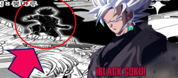 Black Gokú super saiyajin dios blanco