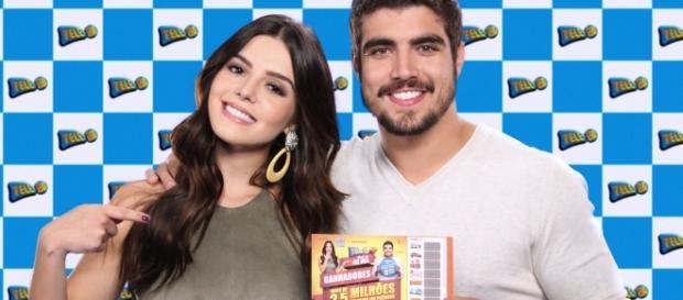 Caio Castro e Giovanna Lancellotti estrelam campanha da Tele Sena ... - com.br
