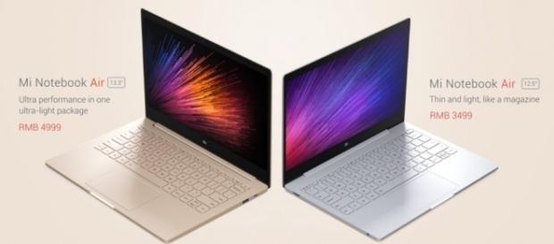 Les deux versions du Mi Notebook Air
