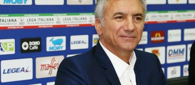 Meluso, direttore sportivo del Lecce. Foto Salento Giallorosso.