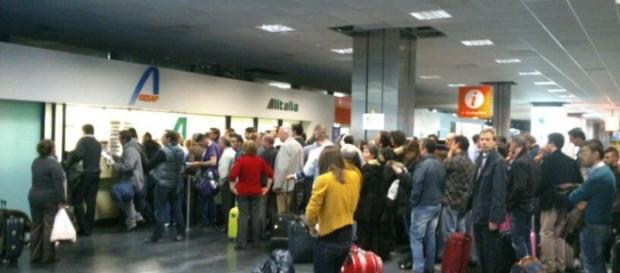 Passageiros estão precisando ter paciência - Foto: palermotoday.it