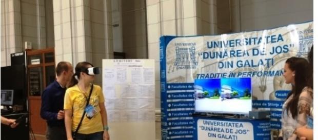 Tururi de realitate virtuală la Universitatea Dunărea de Jos