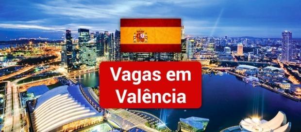 Vagas em Valência na Espanha. Foto: Reprodução 18.tritti