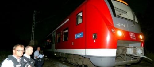 Ataque en un tren al sur de Alemania