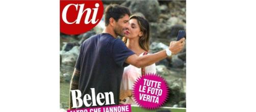 Belen Rodriguez e Marco Borriello paparazzati insieme a Ibiza.