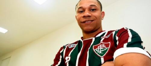 "De volta ao Flu, Wellington se diz ""muito feliz"" (Foto: Fluminense FC)"