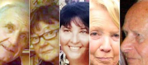 I volti degli italiani rimasti uccisi nella strage di Nizza