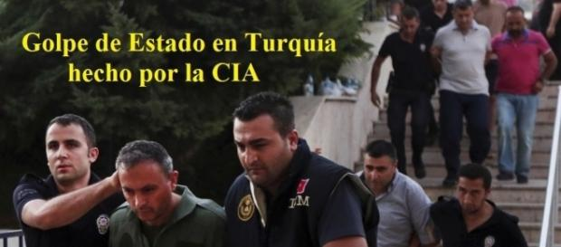 Detenidos tras el golpe de estado en Turquía.