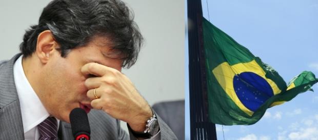 Fernando Haddad proíbe bandeira