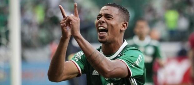 Gabriel Jesus, jogador do Palmeiras