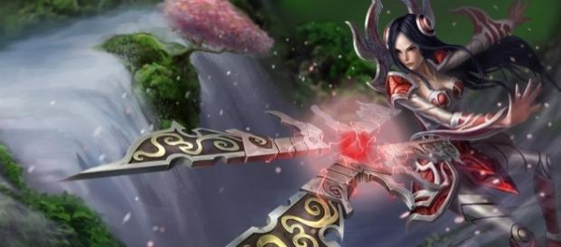Irelia, campeón de League of Legends