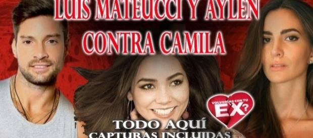 Luis y Aylén contra Camila Recabarren