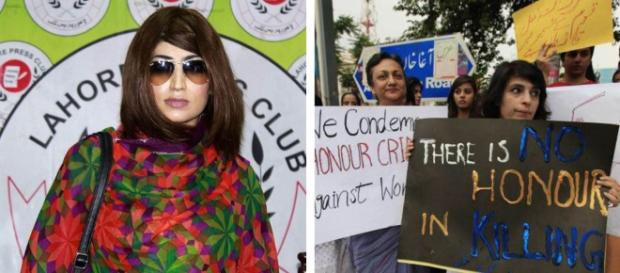 Qandeel Baloch as seen in a recent photo. - louderwithcrowder.com