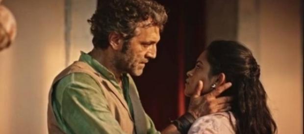 Santo dá casamento com Luzia como encerrado (Divulgação/Globo)